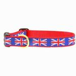 View Image 1 of Union Jack Dog Collar by Up Country