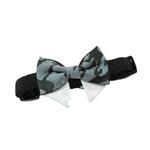 View Image 3 of Dog Bow Tie Collar Attachment by Doggie Design - Gray Camo
