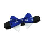 View Image 3 of Dog Bow Tie Collar Attachment by Doggie Design - Royal Blue