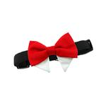View Image 3 of Dog Bow Tie Collar Attachment by Doggie Design - Solid Red