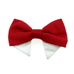 View Image 1 of Dog Bow Tie Collar Attachment by Doggie Design - Solid Red