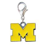 View Image 1 of University of Michigan Wolverines Dog Collar Charm