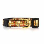 View Image 1 of Up Country Tan Plaid Cat Collar
