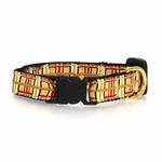View Image 2 of Up Country Tan Plaid Cat Collar