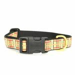 View Image 2 of Up Country Tan Plaid Dog Collar