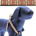 View Image 1 of Up Country Tan Plaid Dog Harness