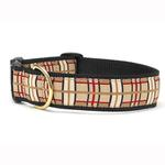 View Image 1 of Up Country Plaid Wide Dog Collar