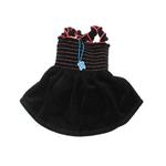 View Image 1 of Uptown Girl Dog Dress - Black