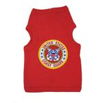 View Image 1 of U.S. Coast Guard Crest Dog Tank Top - Red