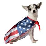 View Image 1 of USA Flag Cape Dog Costume by Rasta Imposta