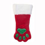 View Image 1 of Outward Hound Holiday Paw Dog Stocking