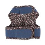 View Image 2 of Vafara Pinka Dog Harness by Pinkaholic - Dark Gray