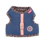 View Image 1 of Vafara Pinka Dog Harness by Pinkaholic - Dark Gray