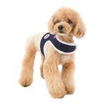 View Image 2 of Vafara Pinka Dog Harness by Pinkaholic - Off White