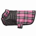 View Image 2 of Vail Dog Vest - Pink Plaid