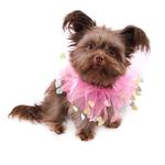 View Image 2 of Valentine's Day Dog Scrunchy - Pink