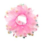 View Image 1 of Valentine's Day Dog Scrunchy - Pink
