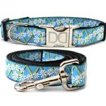 View Image 1 of Daisy Dog Collar and Leash Set by Diva Dog