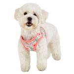 View Image 5 of Verna Vest Dog Harness by Puppia - Pink
