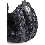 View Image 3 of Victorian Luxury Sling Pet Carrier by Hello Doggie - Black