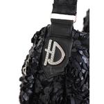 View Image 4 of Victorian Luxury Sling Pet Carrier by Hello Doggie - Black