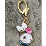 View Image 3 of Victorian Rabbit Dog Collar Charm