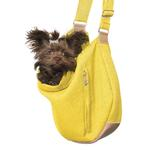 View Image 2 of Vienna Sling Pet Carrier by Hello Doggie - Lemon