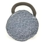 View Image 1 of Viper Round Bite Pillow Dog Toy - French Linen