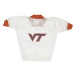 View Image 1 of Virginia Tech Hokies Dog Jersey - VT on White
