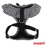 View Image 2 of Vivien Dog Harness by Puppia - Black