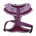 View Image 2 of Vivien Dog Harness by Puppia - Purple