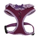 View Image 1 of Vivien Dog Harness by Puppia - Purple
