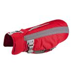 View Image 1 of Vortex Parka Dog Coat - Red and Grey
