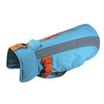 View Image 1 of Vortex Parka Dog Coat - Teal and Orange