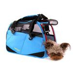 View Image 3 of Voyager Comfort Pet Carrier from Bergan - Bright Blue