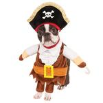 View Image 1 of Walking Pirate Halloween Dog Costume