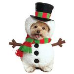 View Image 1 of Walking Snowman Dog Costume