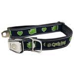View Image 1 of Washington Love Metal Latch Dog Collar by Cycle Dog