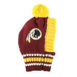 View Image 1 of Washington Redskins Knit Dog Hat