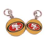 View Image 2 of San Francisco 49ers Team Camo Dog Collar and Tag by Yellow Dog