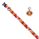 View Image 1 of San Francisco 49ers Team Camo Dog Collar and Tag by Yellow Dog