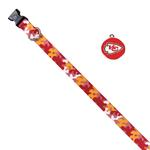 View Image 1 of Kansas City Chiefs Team Camo Dog Collar and Tag by Yellow Dog