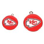 View Image 2 of Kansas City Chiefs Team Camo Dog Collar and Tag by Yellow Dog