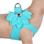 View Image 1 of Water Lilly Step-In Dog Harness by Susan Lanci - Bimini Blue
