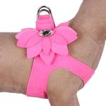 View Image 1 of Water Lilly Step-In Dog Harness by Susan Lanci - Perfect Pink