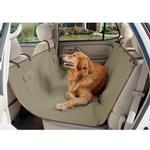 View Image 1 of Waterproof Hammock Dog Car Seat Cover - Beige