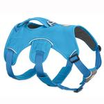 View Image 1 of Web Master Dog Harness by RuffWear - Blue Dusk