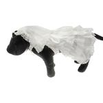 View Image 1 of Wedding Dog Dress Costume with Veil