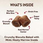 View Image 3 of Wellness CORE Natural Grain Free Marrow Roasts Dog Treats - Beef Recipe