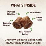 View Image 4 of Wellness CORE Natural Grain Free Marrow Roasts Dog Treats - Turkey Recipe